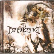 CDs de Música: IRREVERENCE CD RARE SPANISH THRASH METAL 2008-PLEUROSIS-LEGION-CROM-FUCK OFF. Lote 45023487