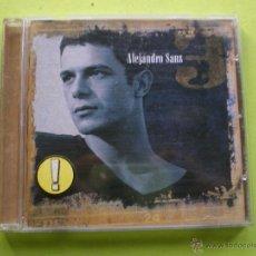 CDs de Música: ALEJANDRO SANZ 3 - CD ALBUM PEPETO. Lote 69641362