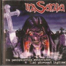 CDs de Música: INSANIA CD LOS PENSAMIENTOS.1ºS/T SPANISH PRESS 1996-ZENOBIA-WARCRY-BARON ROJO (COMPRA MINIMA 15 EUR. Lote 45042744