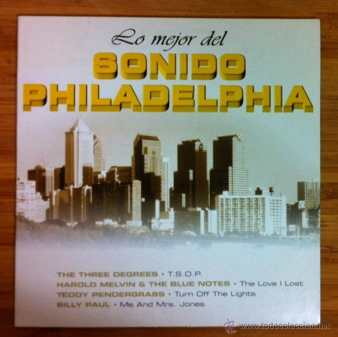 LO MEJOR DEL SONIDO PHILADELPHIA - CD SINGLE PROMOCIONAL (Música - CD's Disco y Dance)