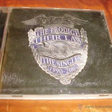 CDs de Música: THE PRODIGY. THEIR LAW. THE SINGLES 1990 - 2005. CD EDICION EXTRANJERA. Lote 45062605