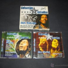 CDs de Música: 2 CD BOB MARLEY - COLECCION 5 ESTRELLAS. Lote 45072162