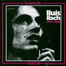 CDs de Música: LLUIS LLACH - ARA I AQUI - CD. Lote 45080825