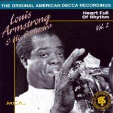 CDs de Música: LOUIS ARMSTRONG - VOL. 2 (1936-38) - CD. Lote 45082185