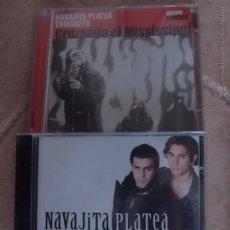 CDs de Música: NAVAJITA PLATEA 2 CDS. Lote 44987583