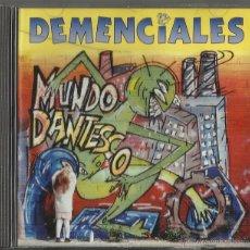 CDs de Música: DEMENCIALES CD MUNDO DANTESCO 1995. Lote 45089391