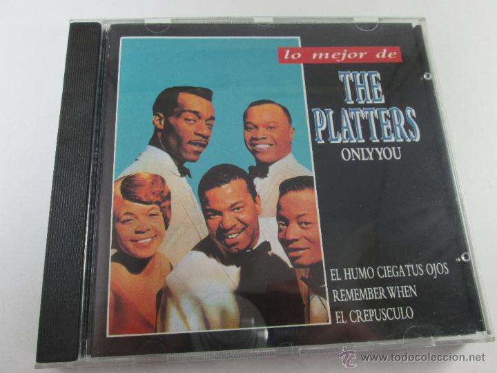 CD-LO MEJOR THE PLATERS-ONLY YOU-1994-PERFECTO-14 TEMAS-DIVUCSA- (Música - CD's Jazz, Blues, Soul y Gospel)
