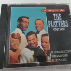 CDs de Música: CD-LO MEJOR THE PLATERS-ONLY YOU-1994-PERFECTO-14 TEMAS-DIVUCSA-. Lote 45096232