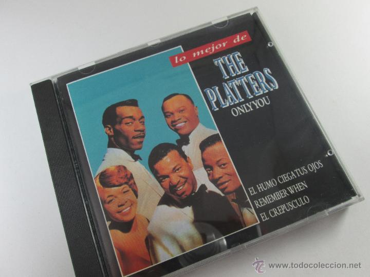 CDs de Música: CD-LO MEJOR THE PLATERS-ONLY YOU-1994-PERFECTO-14 TEMAS-DIVUCSA- - Foto 2 - 45096232