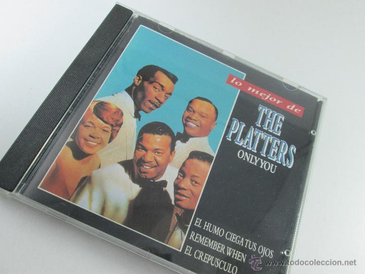 CDs de Música: CD-LO MEJOR THE PLATERS-ONLY YOU-1994-PERFECTO-14 TEMAS-DIVUCSA- - Foto 3 - 45096232