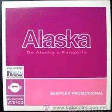 CDs de Música: ALASKA - DE ALASKA A FANGORIA - CD SAMPLER PROMOCIONAL. Lote 28174328