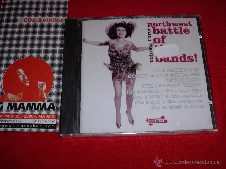VARIOUS NORTHWEST BATTLE OF THE BANDS VOLUME THREE UK 2002 CD NEW (Música - CD's Jazz, Blues, Soul y Gospel)