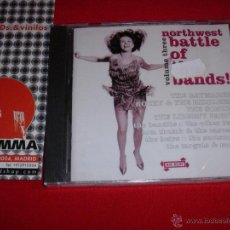 CDs de Música: VARIOUS NORTHWEST BATTLE OF THE BANDS VOLUME THREE UK 2002 CD NEW. Lote 45171939