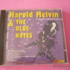 CDs de Música: HAROLD MELVIN & THE BLUES NOTES. 11 TEMAS.. Lote 45182340