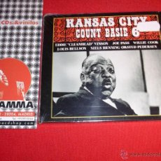 CDs de Música: COUNT BASIE KANSAS CITY 6 REISSUE, REMASTERED CD NEW. Lote 45188067