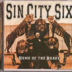 CDs de Música: SIN CITY SIX CD,SPANISH 2003 - SARATOGA-BARON ROJO-WARCRY-LEO (COMPRA MINIMA 15 EUR). Lote 45192554