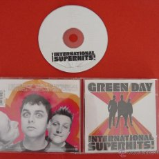 CDs de Música: CD: GREEN DAY (INTERNATIONAL SUPERHITS!) (REPRISE RECORDS. 2001) ¡COLECCIONISTA!. Lote 45200334