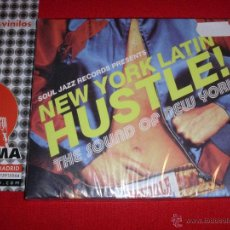 CDs de Música: VARIOUS NEW YORK LATIN HUSTLE! - THE SOUND OF NEW YORK COMPILATION CD NEW. Lote 45206559