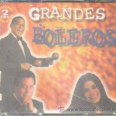 CDs de Música: GRANDES BOLEROS. CD-DOBLE-189-2. Lote 45212879