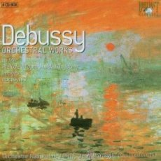 CDs de Música: DEBUSSY. ORCHESTRRAL WORKS. - JEAN MARTINON (4 CD BOX, BRILLIANT). Lote 45225876