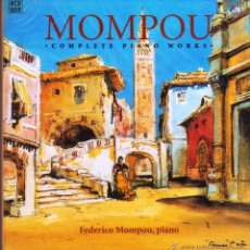 CDs de Música: MOMPOU: COMPLETE PIANO WORKS - FEDERICO MOMPOU, PIANO (4 CD BOX, BRILLIANT). Lote 45226157