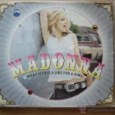 CDs de Música: MADONNA. WHAT IT FEELS LIKE FOR A GIRL. . Lote 45226526