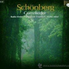 CDs de Música: SCHOENBERG: GURRELIEDER (1900-1913) - RADIO-SINFONIE-ORCHESTER FRANKFURT/ELIAHU INBAL (2 CD SET). Lote 45226627