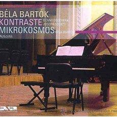 CDs de Música: BARTÓK: KONTRASTE-MIKROKOSMOS - BÉLA BARTÓK, JOSEPH SZIGETI, BENNY GOODMAN (DOCUMENTS). Lote 45226974
