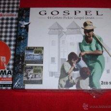 CDs de Música: VARIOUS GOSPEL 44 COTTON PICKIN GOSPEL GREATS 2 X CD COMPILATION . Lote 45240259