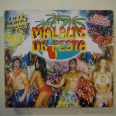 CDs de Música: MALALTS DE FESTA - 3 CDS. Lote 45261996