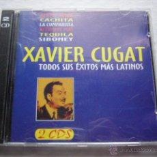 CDs de Música: XAVIER CUGAT. TODOS SUS EXITOS MAS LATINOS. 2 CDS. . Lote 45272541