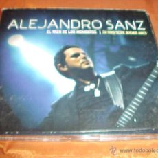 CDs de Música: ALEJANDRO SANZ. EL TREN DE LOS MOMENTOS. EN VIVO DESDE BUENOS AIRES. CD + DVD. Lote 45284178