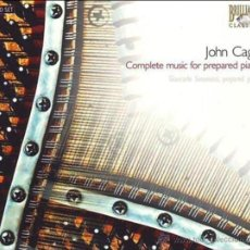 CDs de Música: JOHN CAGE: COMPLETE MUSIC FOR PREPARED PIANO - GIANCARLO SIMONACCI (3 CD SET BRILLIANT). Lote 45226721