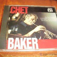 CDs de Música: CHET BAKER. CON RUSS FREEMAN, CARSON SMITH, LARRY BUNKER, HERB GELLER ... CD JAZZ & BLUES. Lote 45301025