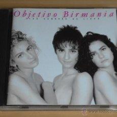 CDs de Música: OBJETIVO BIRMANIA - LOS HOMBRES NO LIGAN (CD) POP MOVIDA EPIC 1991 ORIGINAL COMO NUEVO.. Lote 45304457