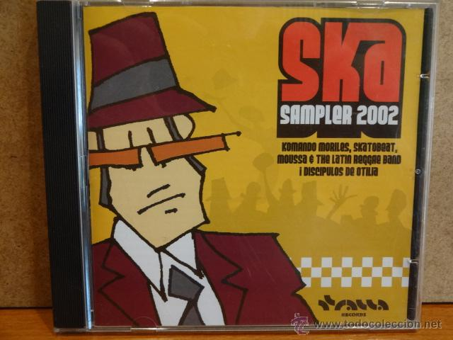 SKA SAMPLER 2002. CD-EP / TRALLA RECORDS - 2002. 4 TEMAS. CALIDAD LUJO. (Música - CD's Reggae)