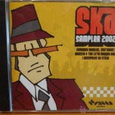 CDs de Música: SKA SAMPLER 2002. CD-EP / TRALLA RECORDS - 2002. 4 TEMAS. CALIDAD LUJO.. Lote 45321272