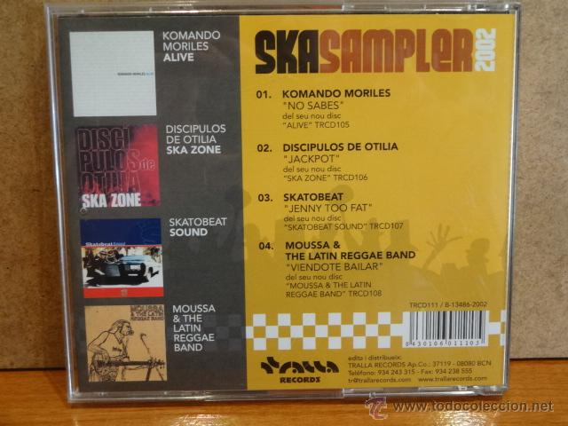 CDs de Música: SKA SAMPLER 2002. CD-EP / TRALLA RECORDS - 2002. 4 TEMAS. CALIDAD LUJO. - Foto 2 - 45321272