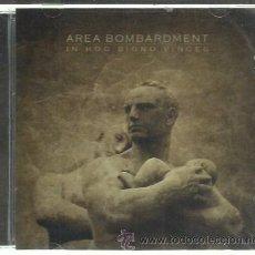 CDs de Música: AREA BOMBARDMENT - IN HOC SIGNO VINCES - CD LICHTERKLANG 2010 NUEVO. Lote 45321751
