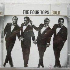 CDs de Música: THE FOUR TOPS. GOLD. 2 CD.. Lote 45323357