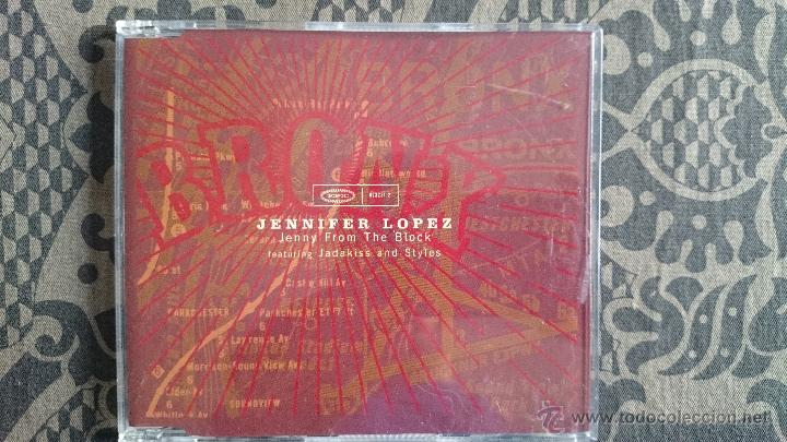 CD SINGLE JENNIFER LOPEZ JENNY FROM THE BLOCK (Música - CD's Pop)