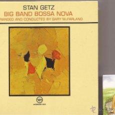 CDs de Música: STAN GETZ - BIG BAND BOSSA NOVA (CD DIGIPACK) VERVE.. Lote 45325268