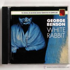 CDs de Música: GEORGE BENSON - WHITE RABBIT (CD EPIC 1987). Lote 45331272