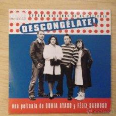 CDs de Música: DESCONGELATE -CD SINGLE PROMOCIONAL - DE CARTON - FANGORIA - ALASKA NUEVO. Lote 45365654