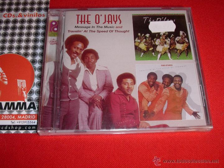 THE O'JAYS MESSAGE IN THE MUSIC AND TRAVELIN' AT THE SPEED OF THOUGHT CD NEW (Música - CD's Disco y Dance)