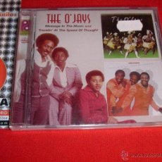 CDs de Música: THE O'JAYS MESSAGE IN THE MUSIC AND TRAVELIN' AT THE SPEED OF THOUGHT CD NEW. Lote 45376540