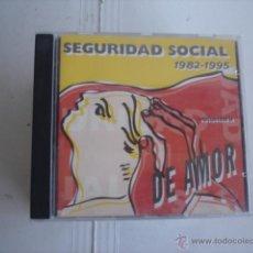 CDs de Música: SEGURIDAD SOCIAL COMPROMISO DE AMOR VOLUMEN 2. Lote 45387358