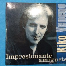 CDs de Música: KIKO VENENO - IMPRESIONANTE AMIGO - TE LLEVO DENTRO - CD PROMOCIONAL. Lote 45390538
