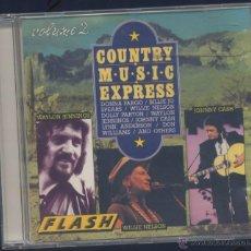 CDs de Música: COUNTRY MUSIC EXPRESS-VOLUMEN 2. Lote 45399778