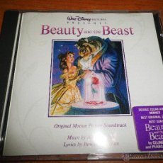 CDs de Música: DISNEY LA BELLA Y LA BESTIA BANDA SONORA ORIGINAL CD DISNEY CELINE DION PEABO BRYSON 1991 15 TEMAS. Lote 45403827